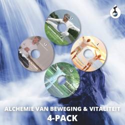 DVD 4-pack - Alchemie van Beweging & Vitaliteit